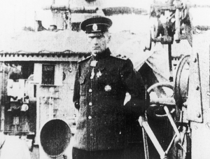 ADMIRAL ALEKSANDR VAILIYEVICH KOLCHAK Served at the Siege of Port Arthur, explored Polar region, 'white' commander, captured and executed by Bolsheviks1874 - 1920